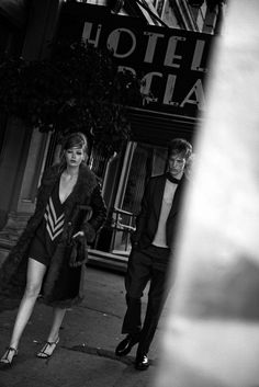 The Factory by Peter Lindbergh for Interview Magazine