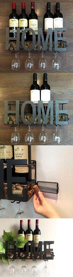 wine racks and bottle holders wall mounted metal wine rack 4 long stem glass