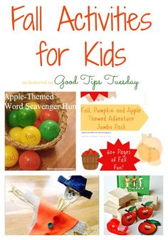 Fall Activities for