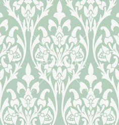 Seamless background with beige ornaments vector - by vtorous on VectorStock®