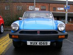 MG at Leyland's classic car meet, 2007 ~ samdiablo666 @ flickr (sam sykes)