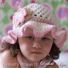 Floppy Teaparty Hat Crochet Pattern - *Inspiration*