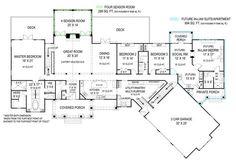 pepperwood house plan | Pepperwood House Plan - Papperwood House Plan - First Floor