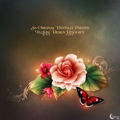 "Moonbeam's ""Enchanted Begonias"" - Click Image to Close"