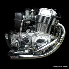 No 49: Honda CB750F motorcycle engine, By Gordon Calder