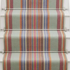 Chatham stair runner in Azure from Roger Oates