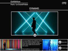Dynamo Exhibition - Le Grand Palais - Paris - Created on Tactilize