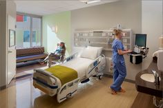"""By killing infectious pathogens on painted surfaces, Paint Shield is a game-changing advancement in coatings technology,"" said Chris Connor, Sherwin-Williams' chairman and chief executive. Cleveland Art, Sherwin William Paint, Healthcare Design, Private Room, Medical Center, Large Windows, Interior, House, Chief Executive"