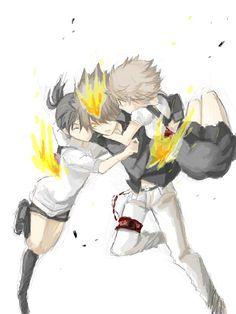 Tsuna Haru et Kyoko