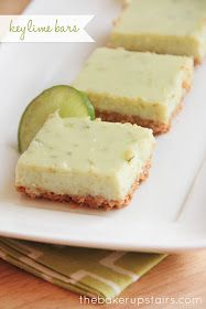 the baker upstairs: key lime bars