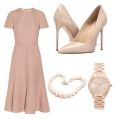 """""""Untitled #29"""" by mafe2605 on Polyvore featuring Valentino, Massimo Matteo, Michael Kors and Hiho Silver"""