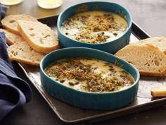 Buffalo Mozzarella Gratin : Recipes : Cooking Channel Recipe | Roger Mooking | Cooking Channel