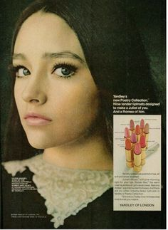 Olivia Hussey for Yardley, 1968