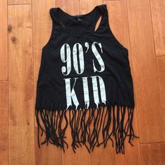 Forever 21 Fringe Crop Top Worn only once so it is in great condition! Make an offer and ask questions! (:         Tags: Urban Outfitters, Free People, Brandy Melville, Forever 21, John Galt, Hollister, PacSun, Abercrombie Fitch, Tilly's, Zara, American Apparel, American Eagle Outfitters, Wet Seal, H&M, Cotton On, Nike, Adidas, Gucci, Lululemon, Prada Forever 21 Tops Crop Tops