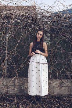 Los 8 retos de la primavera © estévez + belloso. Realización: María Molina in DIOR Spring 2015 for Vogue Spain