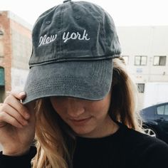 Brandy Melville East Coast Katherine Cap Baseball hat in grey says east coast on in super cute accidentally bought 2, I have 2 available Brandy Melville Accessories Hats