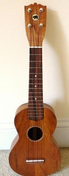 Black bear ukulele s