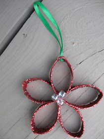 christmas craft, poinsettia craft, flower craft, holiday craft, christmas decoration, craft, crafting, how to, video, tutorial, best christmas craft, christmas ornament craft, recycling craft, ornament craft