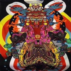 We've got the craziest shirts from @kooz_illustrated  over on the store!  #fortheloveofart visit:  infinite-bit.com  #wearart #jozkooz #shareart #infinitebit #koozart #yakooza #infinitebitart #kooz #alloverprint #artshirt #headyart #psychedelicart #basssquad #basshead