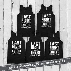 Groom and Groomsmen Tanks  - Leave the quantity at 1 - Use the dropdown menu to select the number of tank tops youd like to purchase - Default Color Black - Size Chart is located in Picture 2 - Please leave a note upon checkout under the Notes to Seller section stating the quantity, sizes and designs youd like (i.e. 1 Small - Groom, 1 Small - The Best Man, 2 Large - The Groomsman) - All Unisex Tank Tops are American Apparel branded Welcome to Festiviteees - Holiday and Celebration Shirts…
