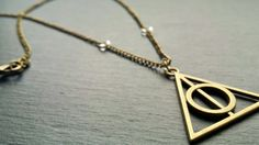 Deathly Hallows Harry potter Necklace made by Emma from Dorsetcreations