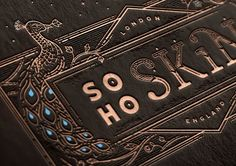 Beautiful Letterpress Designs by Joe White | Inspiration Grid | Design Inspiration