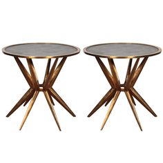 Bronze Side Tables | From a unique collection of antique and modern side tables at https://www.1stdibs.com/furniture/tables/side-tables/