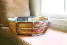 These beautiful handwoven baskets help employ women in West Africa. The proceeds from each basket go directly to supporting schools in the same region.