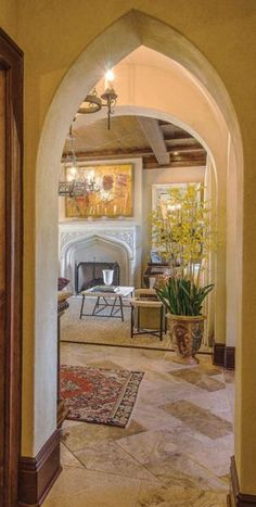Housetrends is your St. Pete-Clearwater source for ideas and inspiration! Focused on local kitchen & bath design, landscaping, interior décor and all things that make a beautiful house a home. Tudor Style, Inspired Homes, Doorway, All Design, Oversized Mirror, Home And Garden, Patio, Interior Design, Landscape