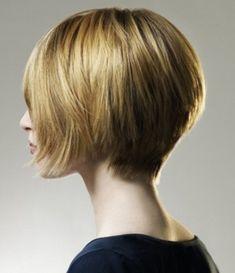 Stacked Layered Bob- Short layered hairstyles