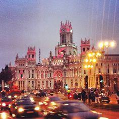Plaza de Cibeles en Madrid, Madrid