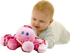 Bruin Activity Octopus - Pink This Pink Octopus is a super soft activity toy with each leg having a different texture or activity to discover and encourage hand-eye co-ordination and manipulation skills in baby. Our friendly octop http://www.comparestoreprices.co.uk/childs-toys/bruin-activity-octopus--pink.asp