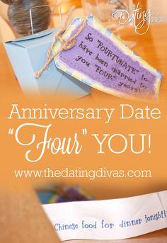 CUTE anniversary date idea! LOVE The Dating Divas!