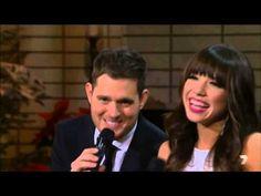 ▷ Michael Buble ft Thalia - Mis Deseos / Feliz Navidad (NBC - A ...
