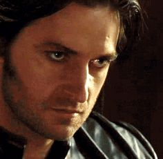 Sir Guy of Gisborne gif -- aaaaaahhhhh he looks hurt let me come comfort you dear darling.