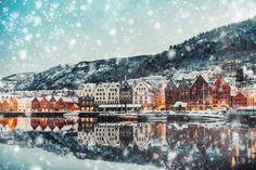 Bruges,+Bergen+Norway+during+Christmas!+