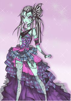 Formal Frankie - Monster High Fanart
