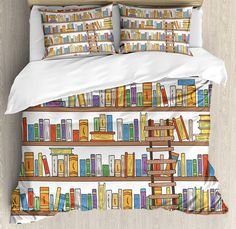 Book bed linen...THIS IS AMAZING!