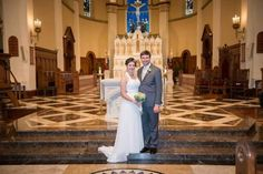 Joseph Castellano and Kate Van Valkenburg, C'13, married July 19 2014 #MountMergers