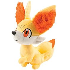 Pokémon Small Plush Fennekin (Discontinued by manufacturer) Inspired by Pokemon X and Pokemon Y Take your favorite Pokemon wherever you go! Small Plush 3 years and up Pokemon Packs, Pokemon Plush, Pikachu, Pokemon Full, Cool Pokemon Wallpapers, Cute Pokemon Wallpaper, Pokemon Poster, Pokemon Birthday, Cute Stuffed Animals