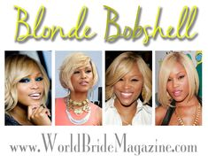 Who's that girl? Eve's that girl! Whether she's wearing long tresses with spicy highlights topped off with a blunt fringe or turning heads with her flam… Blunt Fringe, Blonde Bobs, Bridal Beauty, Eve, Brides, How To Memorize Things, Magazine, Hair Styles, Hair Plait Styles