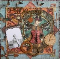 Steampunk Debutante Papers. www.g45papers.com