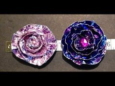 Craftylink Tuesday Tidbits Part 1 Duct Tape and Metal Flowers