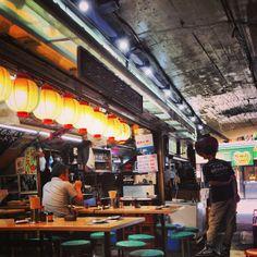 """登運とん in 有楽町, 東京都. One of the """"The 15 Best Things I Ate in Japan"""" according to Serious Eats: http://www.seriouseats.com/2012/09/best-things-to-eat-in-japan-tokyo-kiso-village-kyoto-fukuoka-slideshow.html#show-273346"""