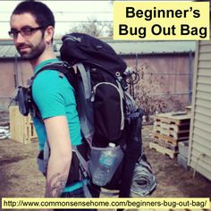 Beginner's Bug Out Bag