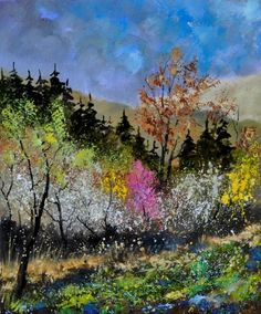 Spring colours  -- ledent pol