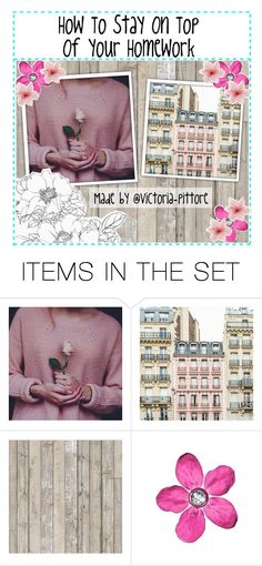 """""""How To Stay On Top Of Your Homework"""" by victoria-pittore ❤ liked on Polyvore featuring art"""
