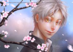 Cherry Blossoms: Sugawara by TheKucing.deviantart.com on @DeviantArt