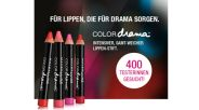 400 Tester für COLORdrama Lippen-Stift von MAYBELLINE