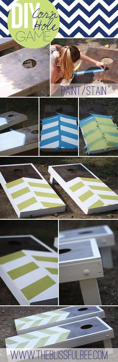 DIY Corn Hole Game |